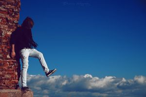 Step to the clouds. by Bunnis