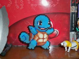 squirtle - perler beads by AngelLale87