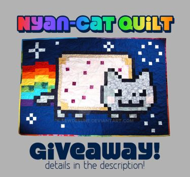 Nyan Cat Quilt Giveaway! [Closed] by SewDesuNe