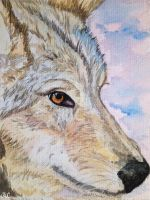 Wolf (full view) by Angyboo12