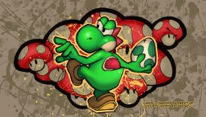 yoshi by Ross-A-Campbell