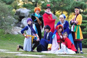 Fushigi Group by Mikycosplay