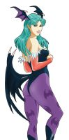 Morrigan by DoctorInfame