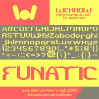 Funatic font by weknow by weknow