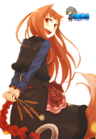 Render - Spice and Wolf by RuScarlet