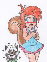 Adorable Squirrel is Adorable by RaijinSenshi