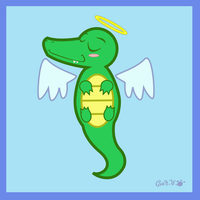 Celestial Crocodile by Cappies