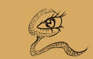 Snake Eye by MortarPsycho