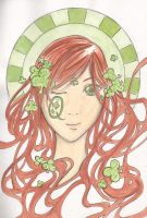 O For the fair Queen of Clovers by AlouetteCorone