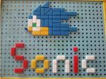 Sonic Pegboard by Yume-The-Lynx