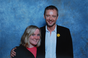 Me and John Simm by StarlightWhispers
