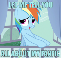Let Me Tell You About My Fanfic... by ChaoticNote