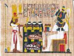 Offering to Osiris by ArtisticAdventures