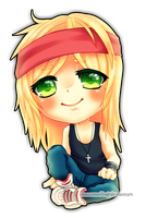 Chibi Axl Rose by cioccoMELLO