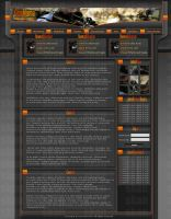 CS Orange Darkness template by skandalouzgfx