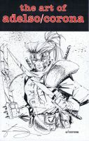 Shatterstar sketchbook cover by adelsocorona