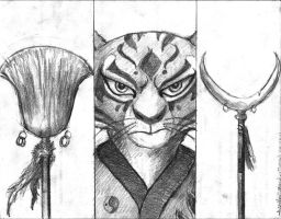 Master Tigress by TheLivingShadow