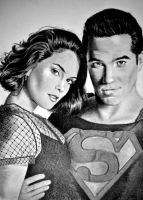 Lois and Clark by joniwagnerart