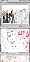 More WIPs! by Anto90