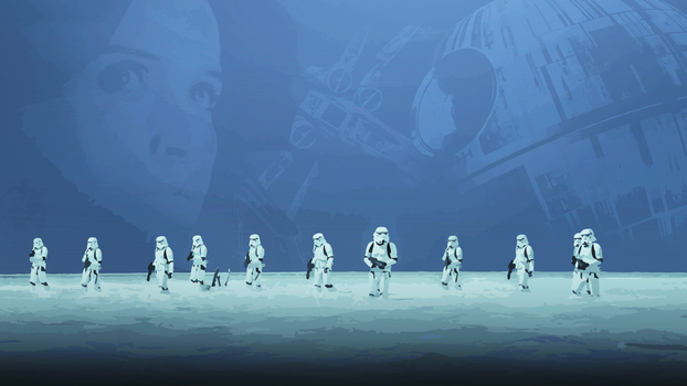 Rogue One: A Star Wars Story - Desktop (no logo) by skauf99