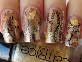 Middle ages manicure (Inspired by Lorde) by Danijella