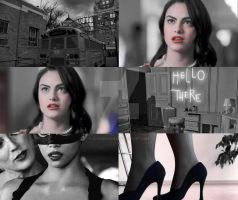 Veronica Lodge | Selina Kyle by xLexieRusso2