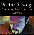 Doctor Strange Counted Cross Stitch Pattern by MadX-Stitcher