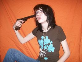 Suicide by gun 4 by KaylinStock