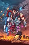 X-men: Age of Days of Future Past Clrs by CdubbArt