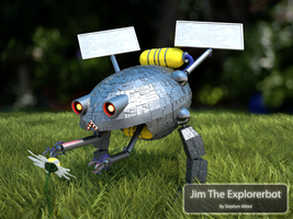 Jim The Explorerbot by stephenallred