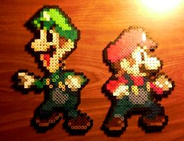 Perlers: The Mario Bros. by Superstrider