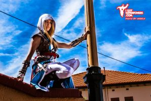 ACIV Black Flag Kenway Rule 63 Cosplay by Tiffany by BabyGirlFallenAngel