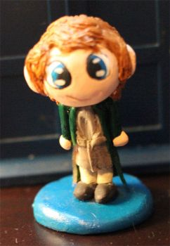 Chibi Eighth Doctor Figure by comicalclare