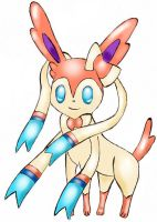 Ninfia-Sylveon  Pokemon X-Y by Diegoxpoke
