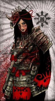 Blood Dusk 1st Infantry Tengu Reaper by Taurus-ChaosLord