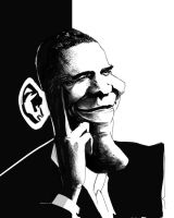 Barack Obama by maritze