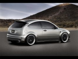 Ford Focus Cosworth by Cop-creations