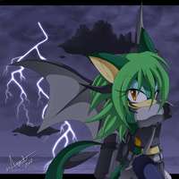 Sky Keeper .:Art Trade:. by Chibi-Nuffie