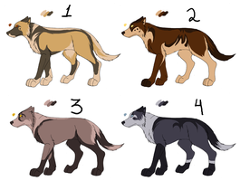 Point adopt - Canines2 :closed by Kaeda-adoptables