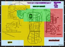 Saints Row 2 Gangs in GTA 3 - Map by LittleGreenGamer