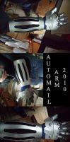 Automail arm so far. by sisteroftheflame