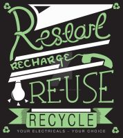 2011 Recycling Poster by RyanDevineOfficial