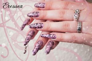 Floral nails by eresseayesta