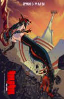 Kill la Kill Ryuko Matoi by DeuceMitchell