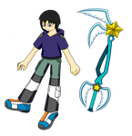 Me and my Keyblade- KH style? by CloudTheIceHedgehog