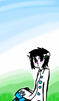 NEW OC: Kaliopi (his friends call him pik) by El3ctro-Mess