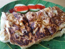 Mutton Murtabak by nosugarjustanger