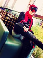 D.Gray-Man:: Lavi Bookman by SebbysGirl13