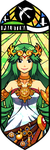 Smash Bros - Palutena by Quas-quas