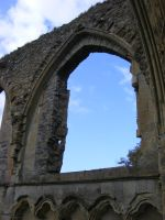 Glastonbury Abbey 66 by LadyxBoleyn